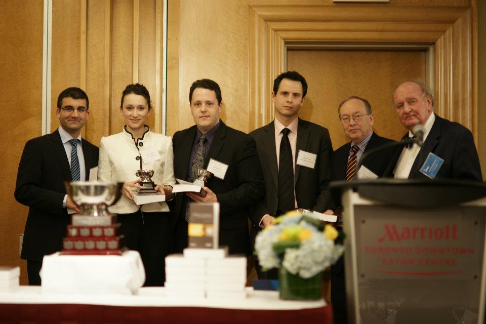 2012 Moot Winners, Western University Team