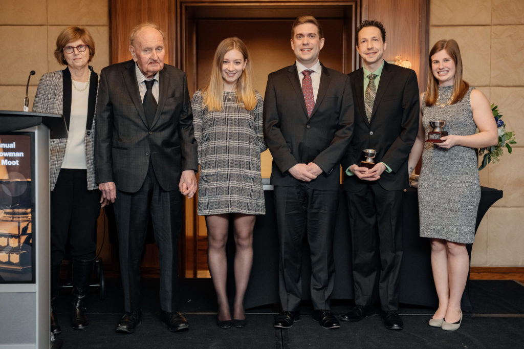 Bowman Moot Winners 2020